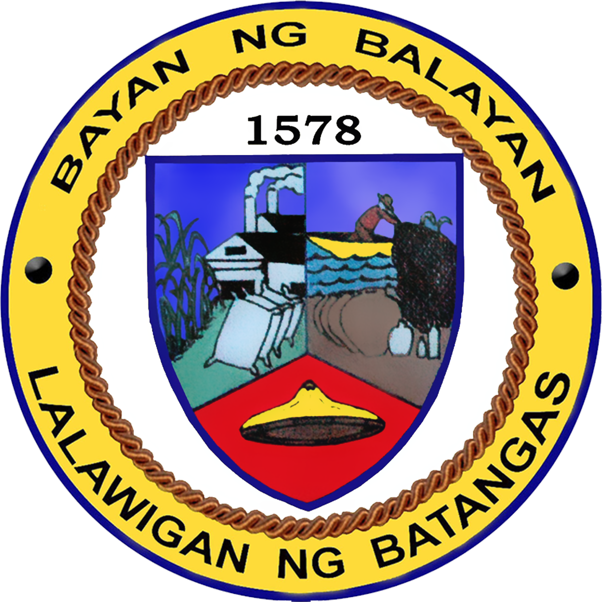Municipality of Balayan Official Logo